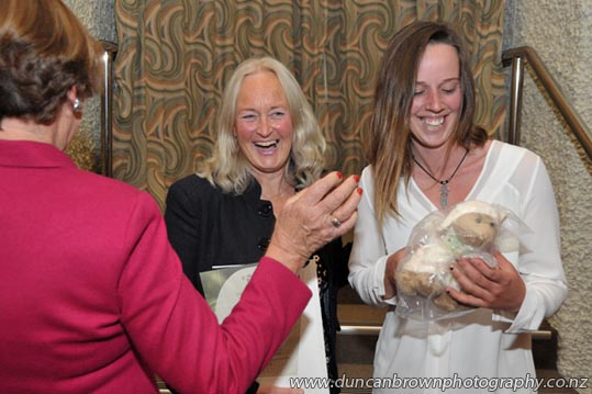 I guess you're never too old for a cuddly lamb :-) Another wonderful welcome to our newest citizens at Hastings District Council on 19 August, 2015. Photos by Glenn Taylor photograph