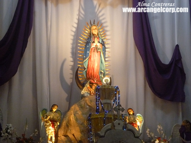 Decoracion Altar Virgen De Guadalupe ~ Altar de la Festividad