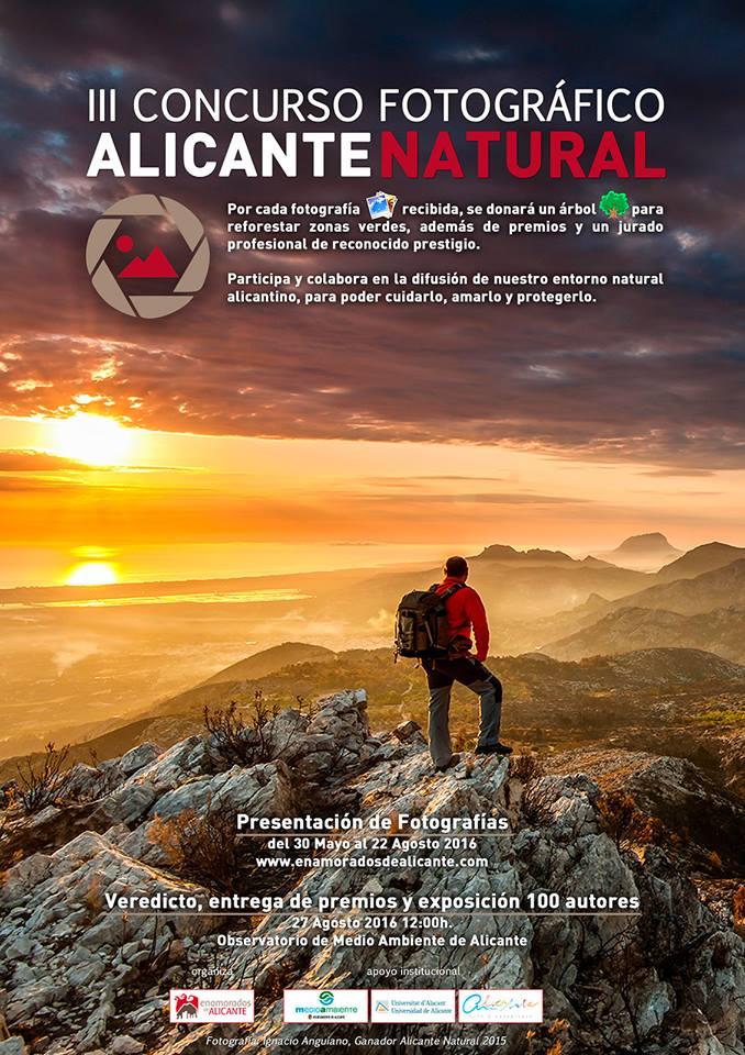 III CONCURSO FOTOGRÁFICO ALICANTE NATURAL