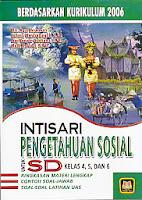 Judul : INTISARI PENGETAHUAN SOAIAL Untuk SD Kl 4, 5, dan 6 Pengarang : Drs. Agus Hernawan, dkk Penerbit : Pustaka Setia