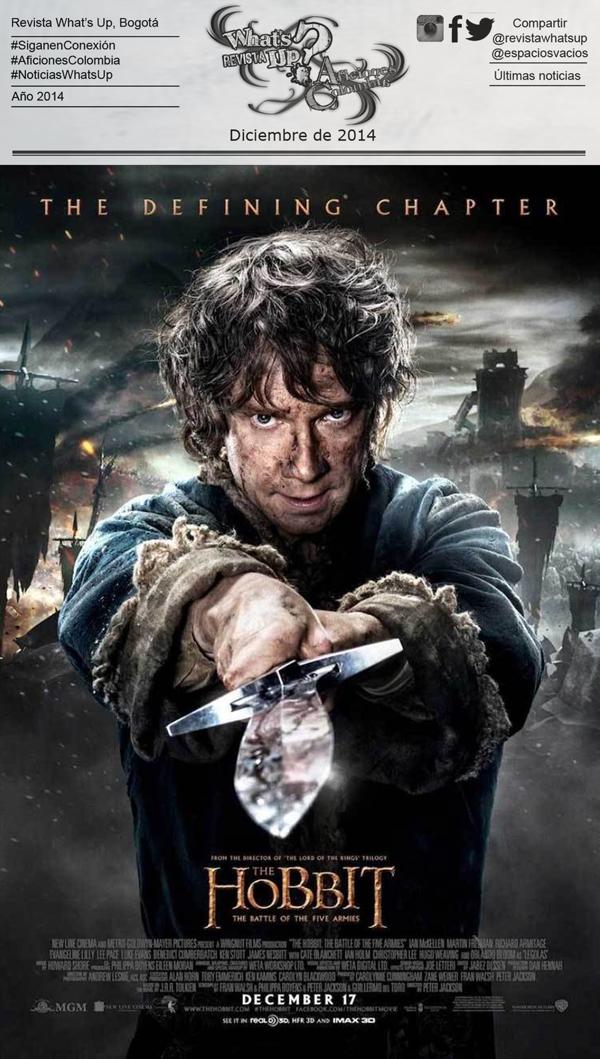 el-hobbit-la-batalla-de-los-cinco-ejércitos-poster