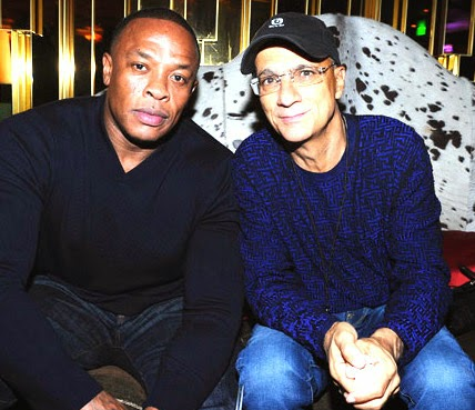 Dr. Dre and Jimmy Iovine image