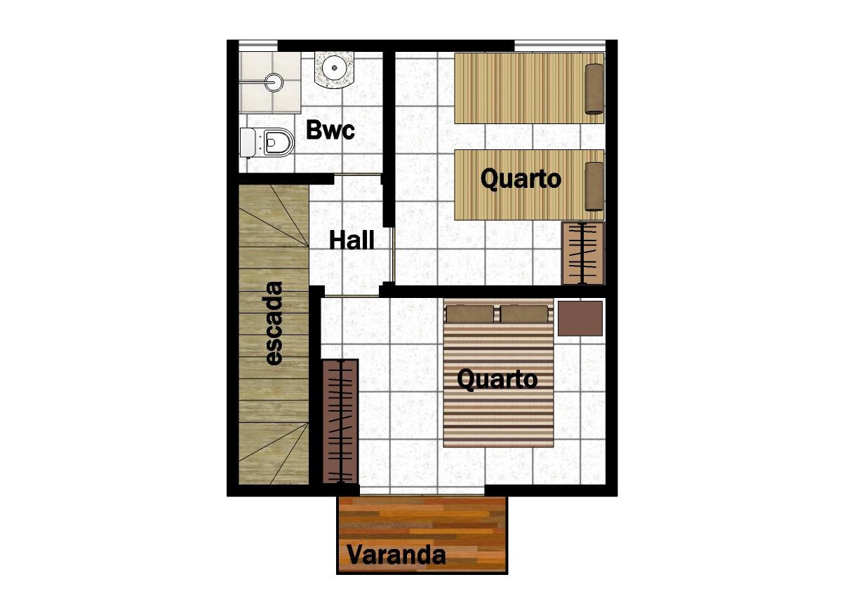 planta baixa pavimento superior #A36428 1230x870 Banheiro Adaptado Medidas