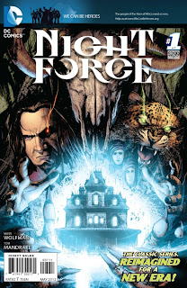 Cover of Night Force #1 from DC Comics in 2012