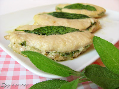Scaloppine di lonza al pesto di salvia