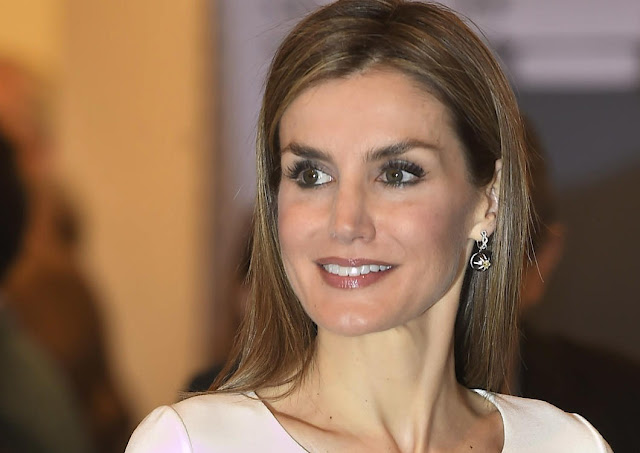 Queen Letizia of Spain attended the opening of ARCO 2015 (2015 Contemporary Art Fair)