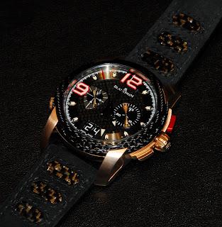 Montre Blancpain L-evolution or rouge référence 8886F-3603-52B