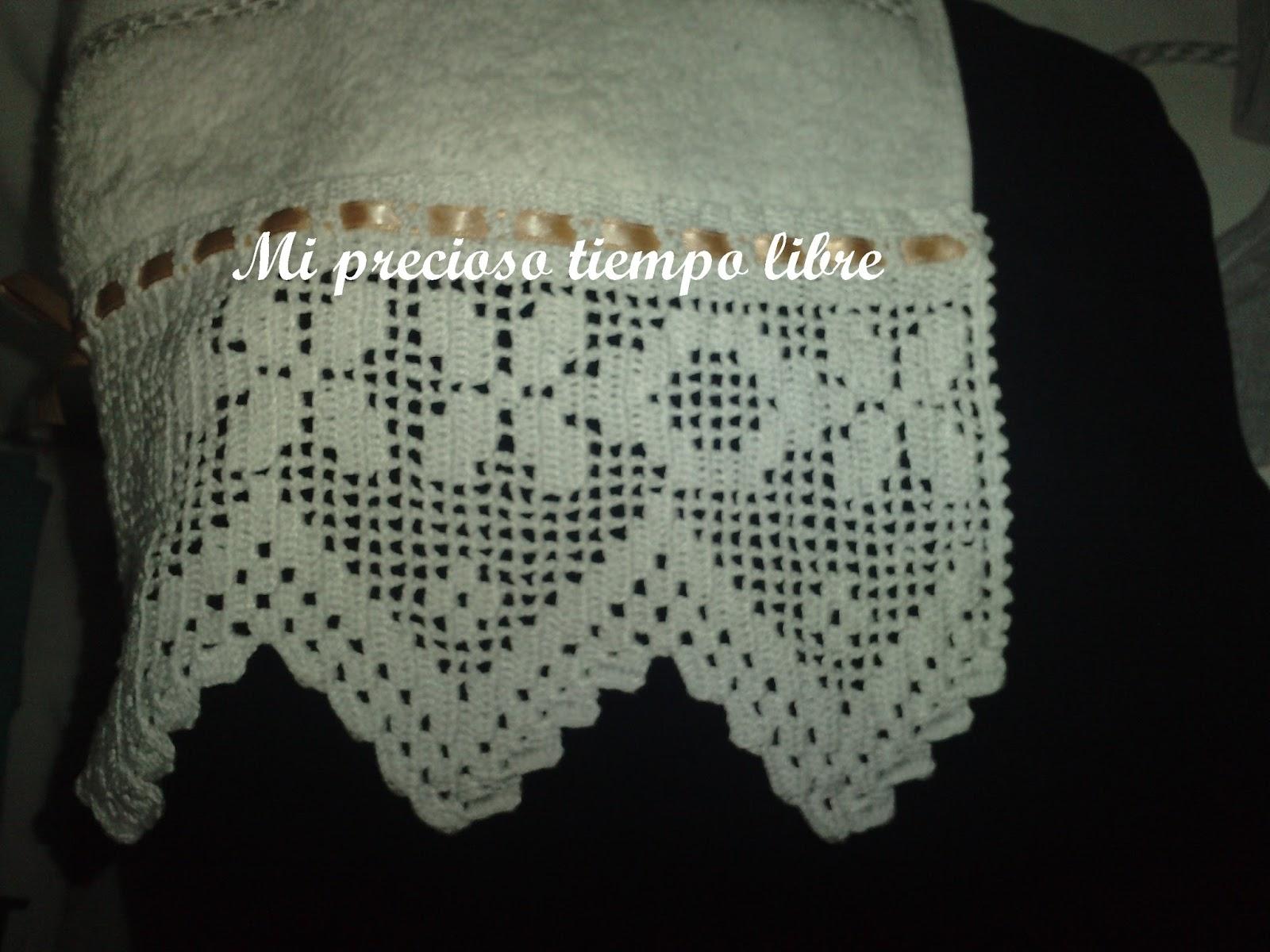 Mi precioso tiempo libre puntillas crochet - Puntillas para sabanas ...