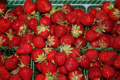 Summer Elements: strawberries, anyone? :: All Pretty Things