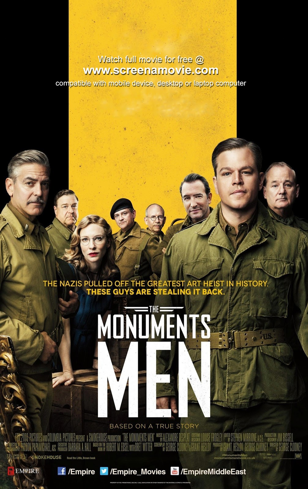 The Monuments Men_@screenamovie
