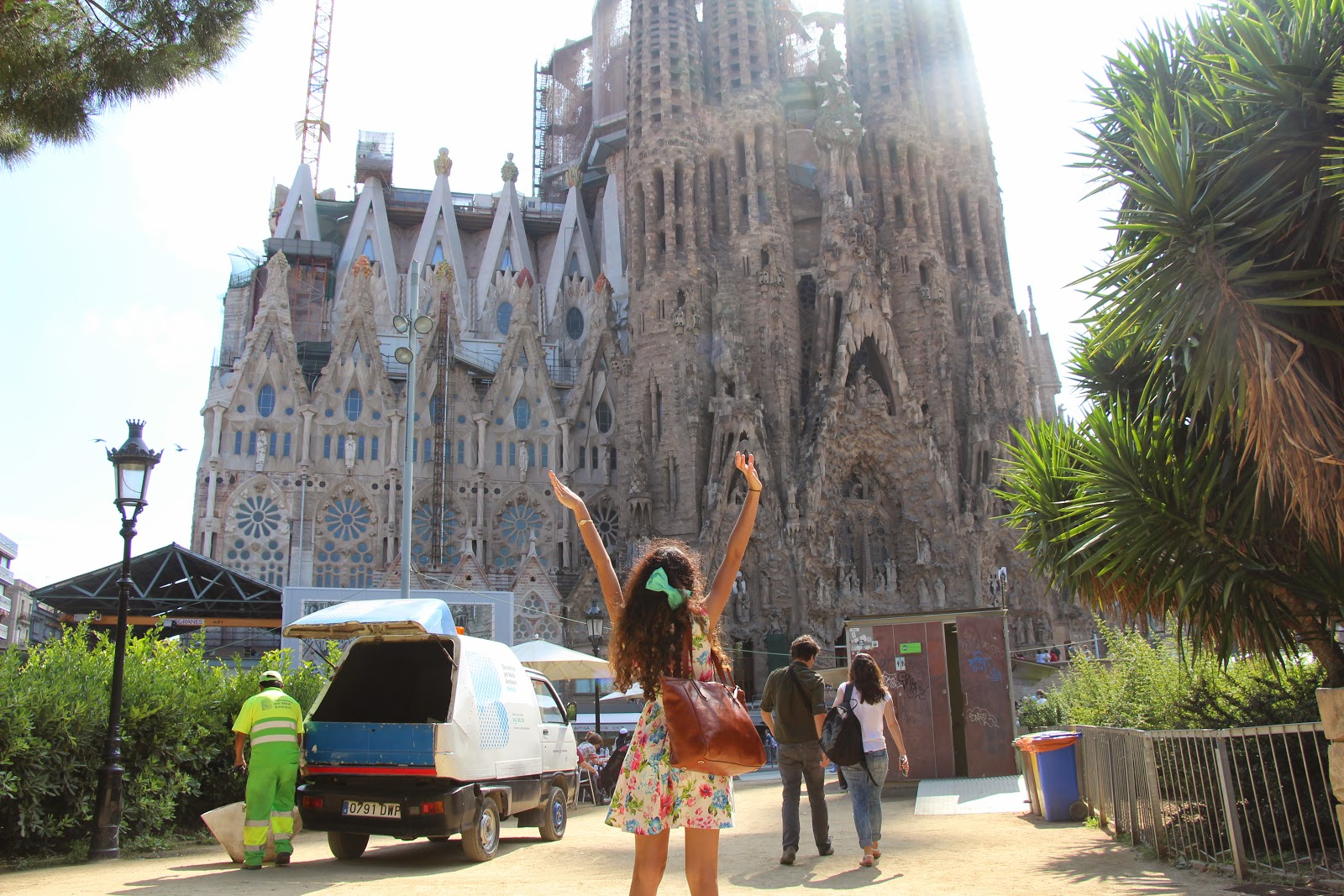 la sagrada familia barcelona spain europe