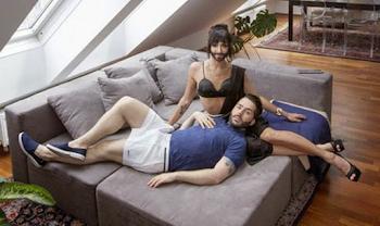 Η Conchita και ο σύζυγός της όπως δεν φαντάζεστε (photos)