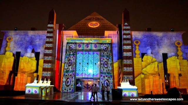 Ramadan Light and Sound Show 6 at Wafi