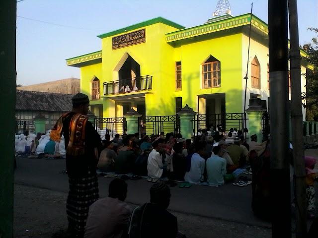 Sholat Id di Desa Ngrejeng, Serentak di 2 Tempat