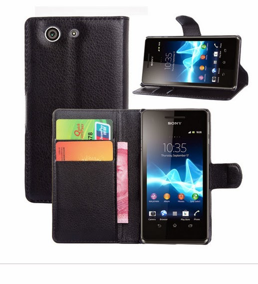 Agenda Standing Book Leather Case Sony Xperia Z3 Compact