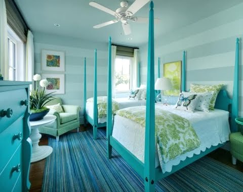 bedroom colors inspired by seaglass
