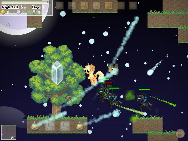 Typical Nightfall gameplay