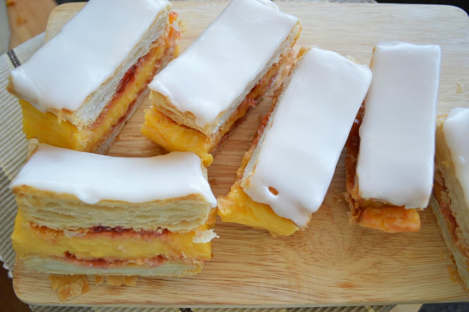 Medwin House Bakery Vanilla Custard Slice