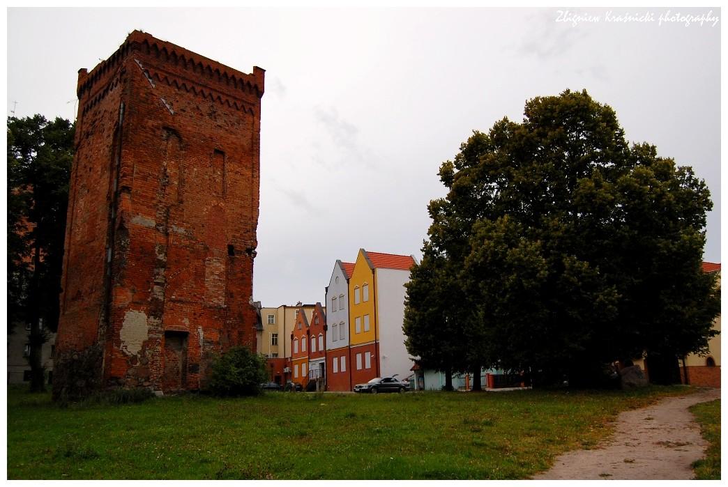 Braniewo, wieża gotycka