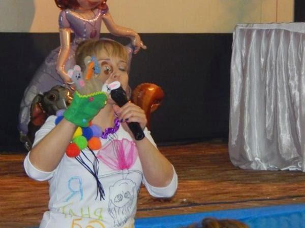 Первый детский форум, Татьяна Бодрячок, реквизит для праздников