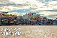 Floating Village, Chau Doc, Vietnam, Mekong Delta River