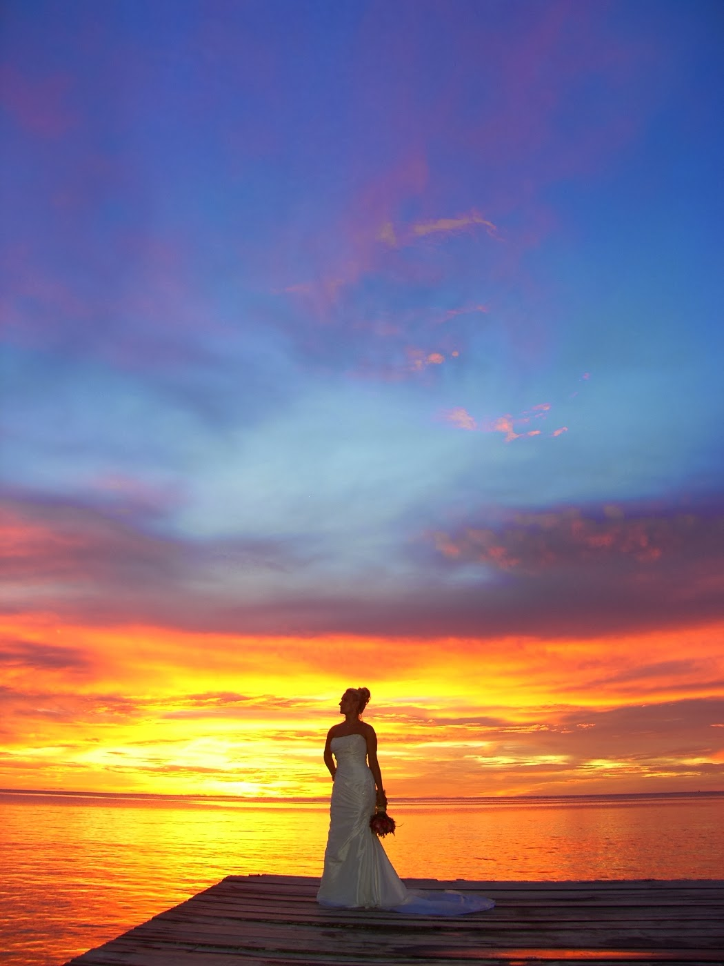 tobago weddings sunset wedding photos