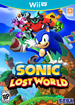 Sonic Lost World Wii U Box Art