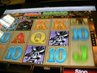 spinning slots on an html5 casino game on the ipad
