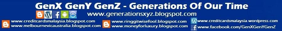 Generations X Y Z - GenX GenY GenZ