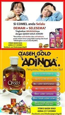 QASEH GOLD SIHAT CANTIK