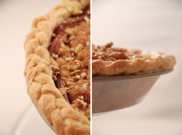 Single-crust Plum And Apple Pie Recipe — Dishmaps