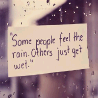 love quotes about rainy days