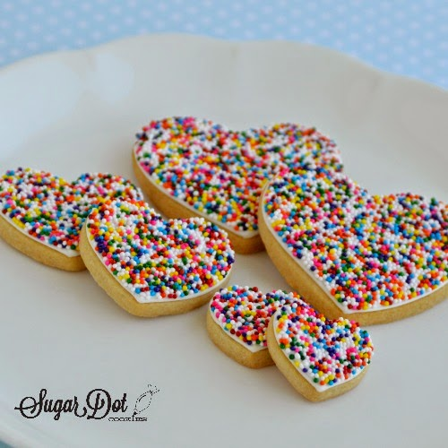 sprinkle cookies - Decorating Cookies With Sprinkles For Christmas