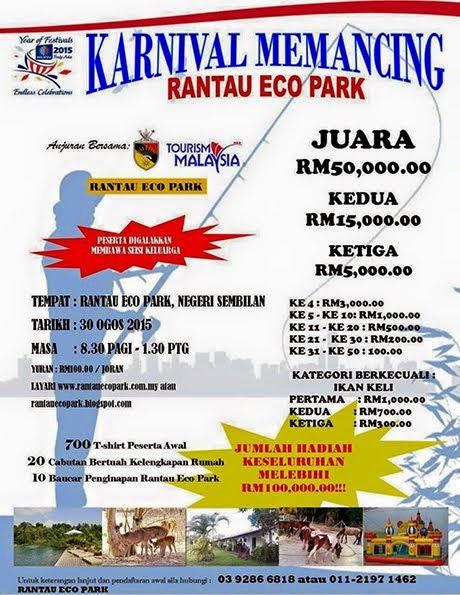 Karnival Memancing Rantau Eco Park 30 Ogos 2015