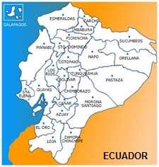 Nombre de las provincias de ECUADOR