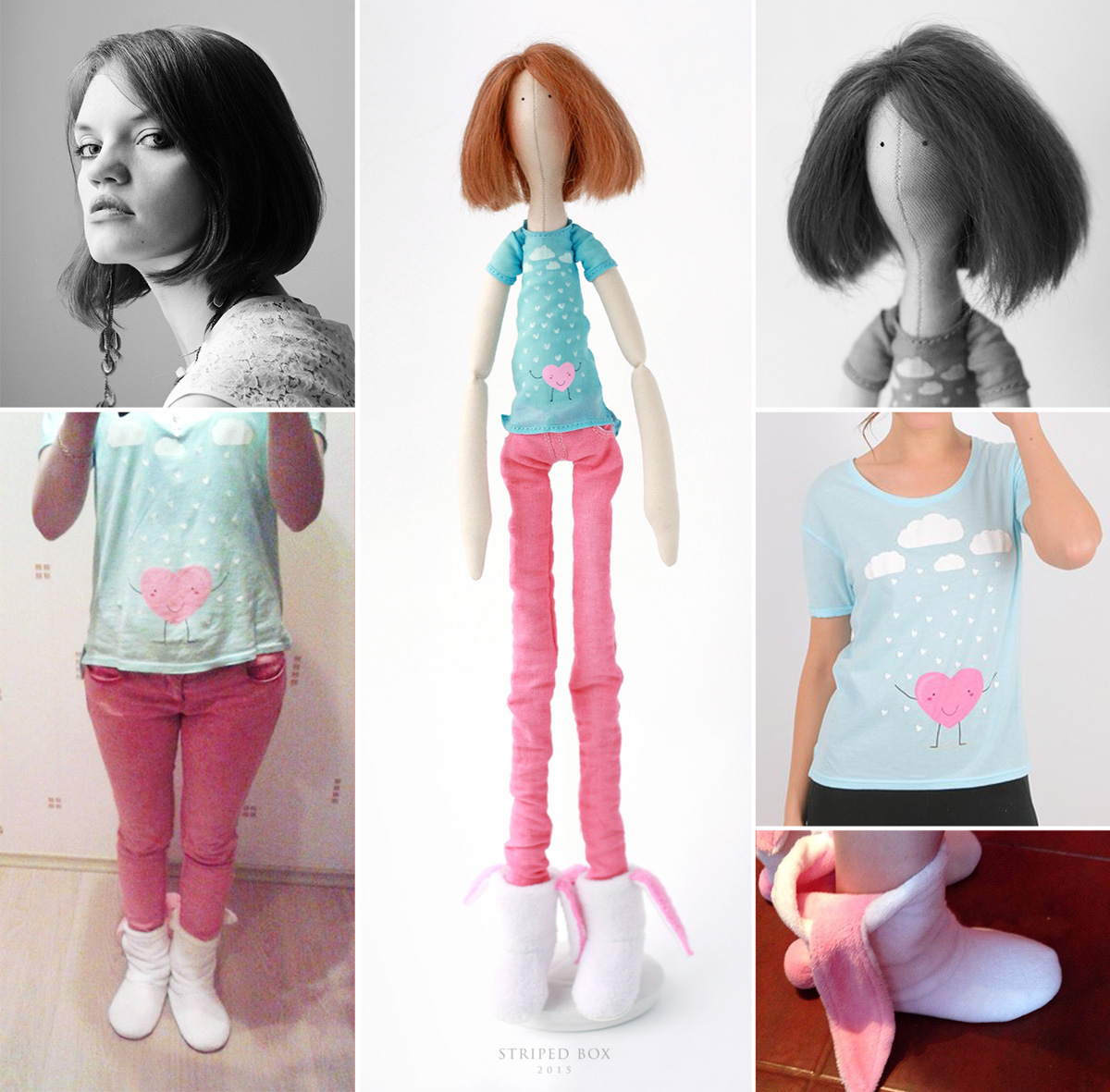 Custom portrait doll