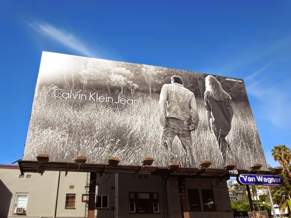 Calvin Klein Jeans Spring 2014 billboard