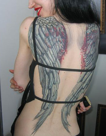 angel wings tattoo designs on kristirallen: ANGEL WINGS TATTOO DESIGNS PART 15