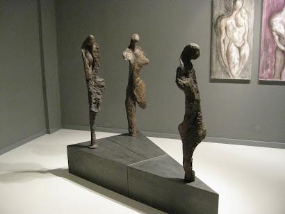 Allestimento Mostra Galleria d'Arte Contemporanea Gnaccarini di Bologna