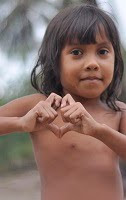 Girl in Vila do Pesqueiro on Ilha de Marajó, near Belém Brasil.