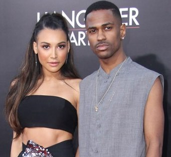 Naya River and boyfriend Big Sean [Photo courtesy of Hollywoodlife.com]