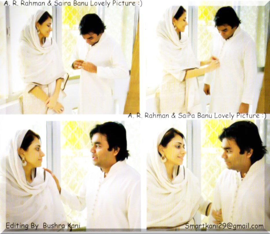 Ar rahman daughter khatija images for Saira banu granddaughter