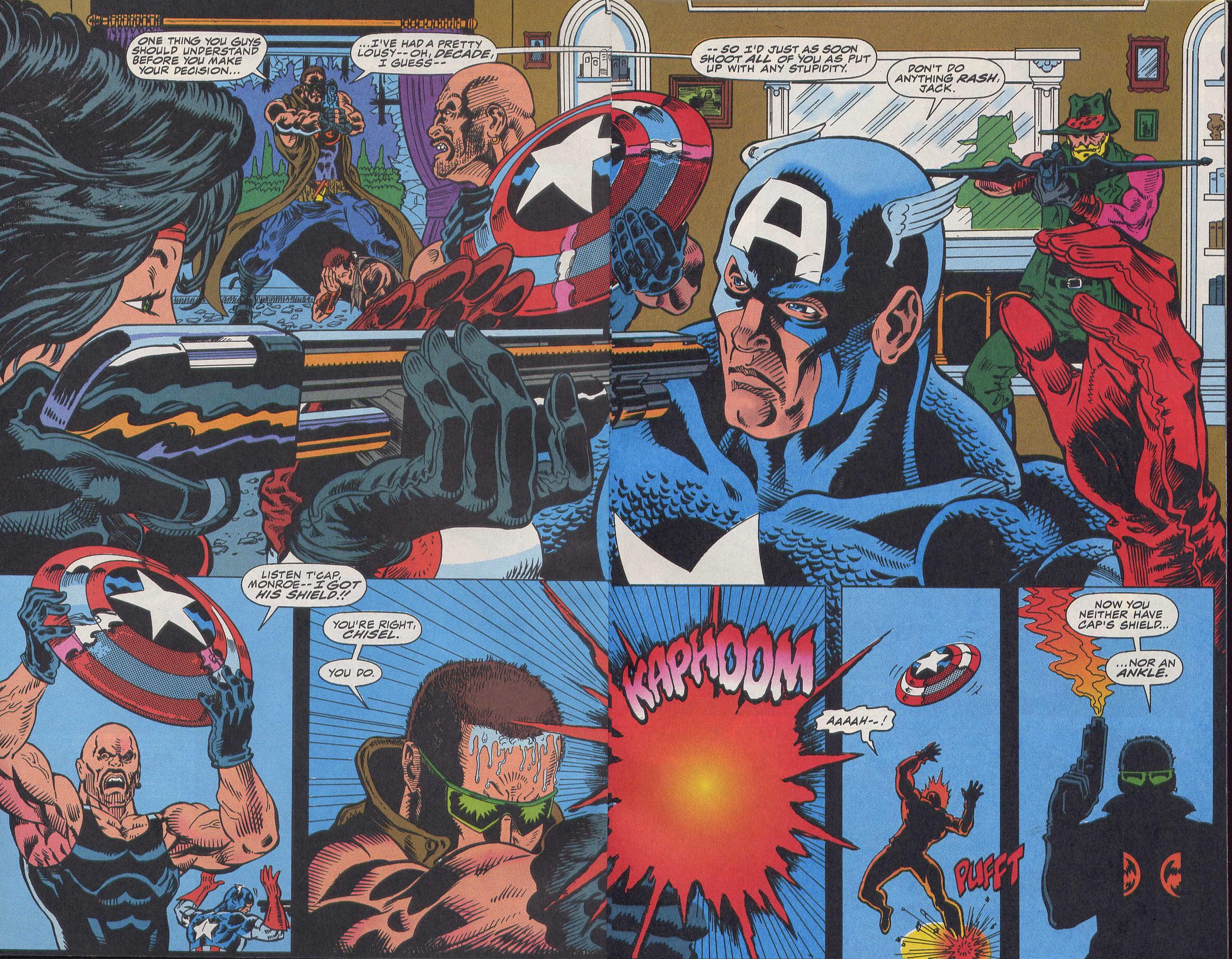 Captain America (1968) Issue #420b #370 - English 3
