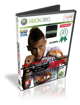 Download Brasileirão V3 João Paulo PES 2011 Xbox 360