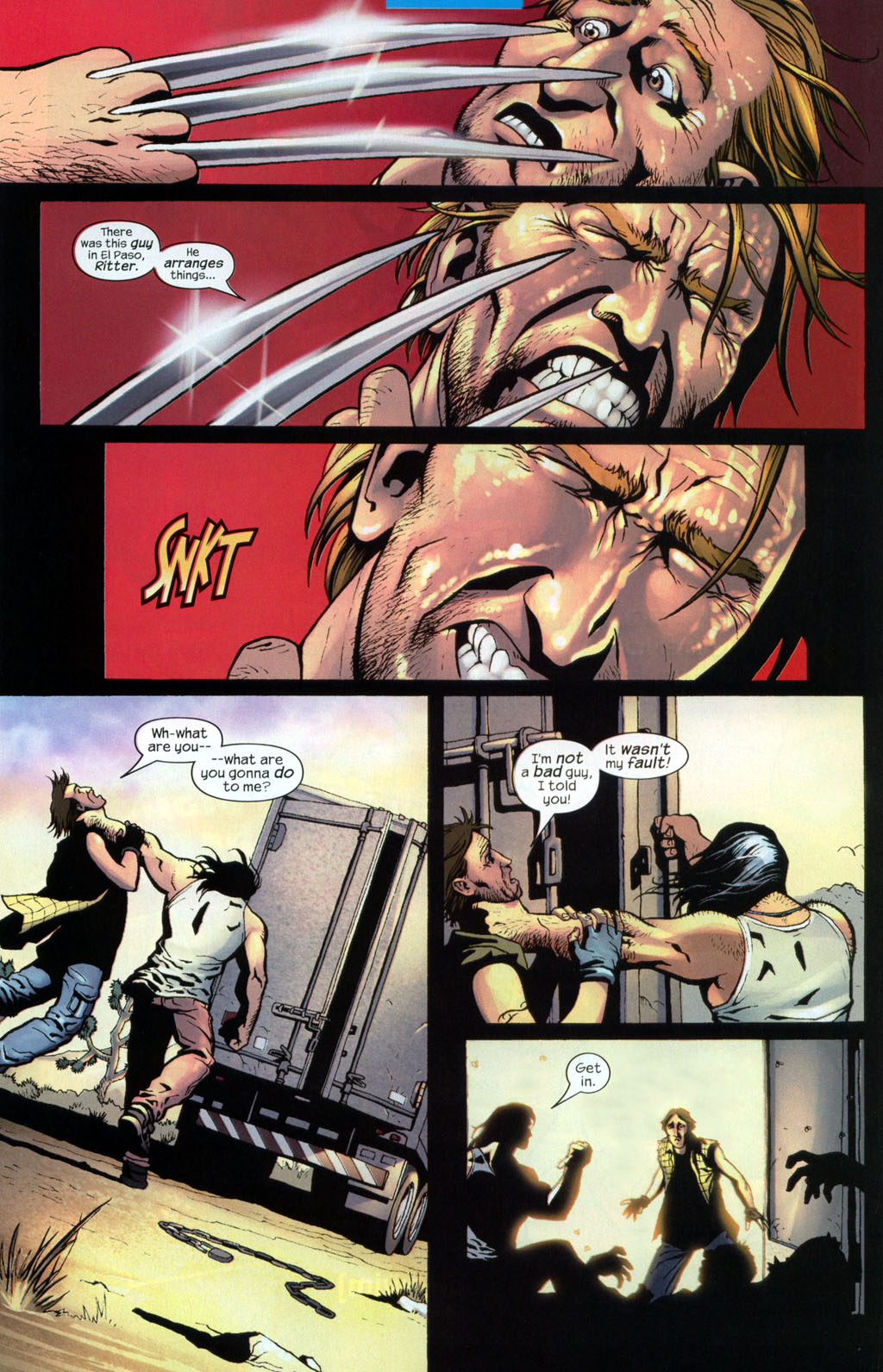 Read online Wolverine (2003) comic -  Issue #7 - 14