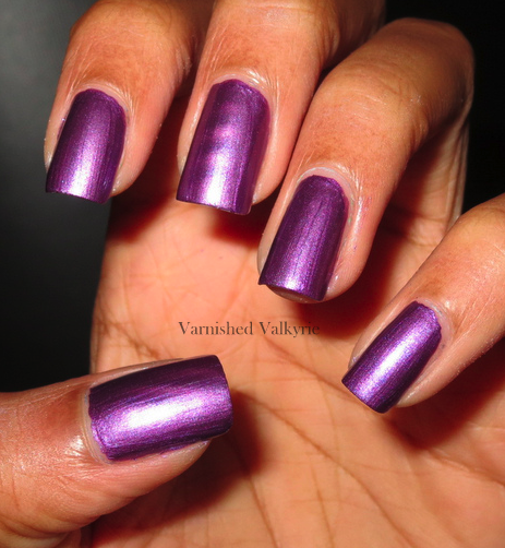 Nail Polish On Pinky Finger Meaning: Varnished Valkyrie: Mgnetiques Magnetic Nail Polish