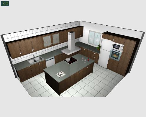 Programa dise o de cocinas decoraci n for Programa de diseno de cocinas integrales