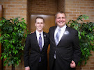 Elder Hanke and Martin