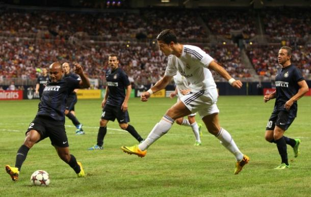 Real Madrid vs Inter de Milan Amistoso
