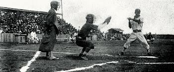 Juego De Beisbol En Japon 1910